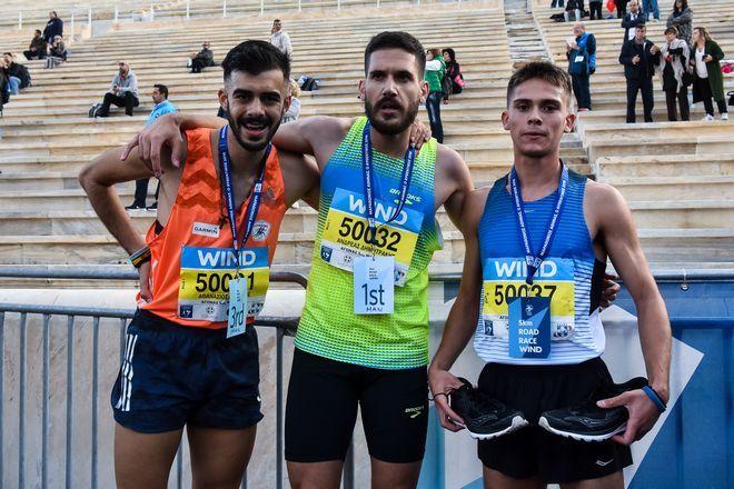 Οι νικητές στη διαδρομή των 5 χιλιομέτρων