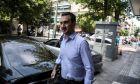Ο εκπρόσωπος Τύπου του ΣΥΡΙΖΑ Αλέξης Χαρίτσης