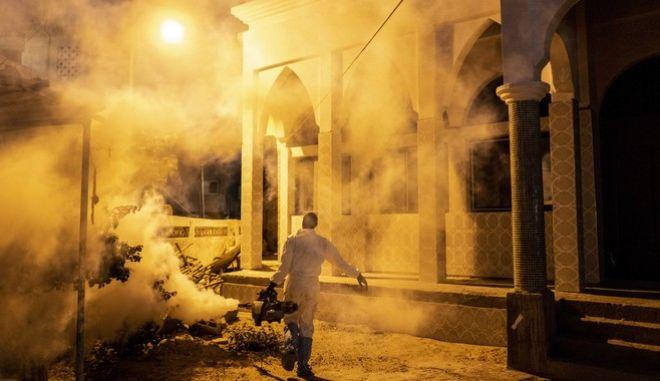 Κορονοϊός στη Σενεγάλη: Απολύμανση για να αποτραπεί η εξάπλωση