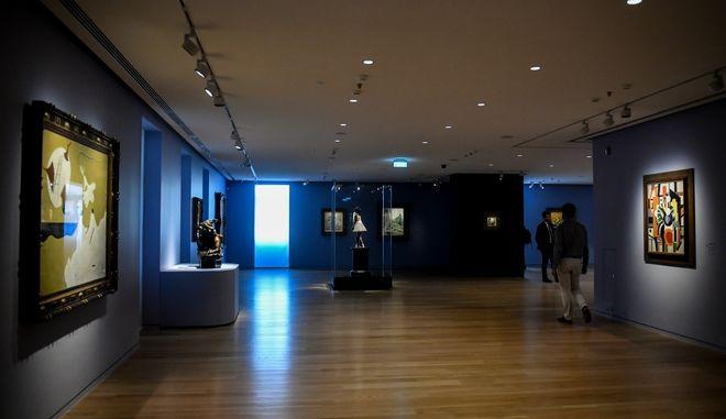 Του νέο μουσείο Σύγχρονης Τέχνης του Ιδρύματος Βασίλη και Ελίζας Γουλανδρή,στην οδό Ερατοσθένους στο Παγκράτι