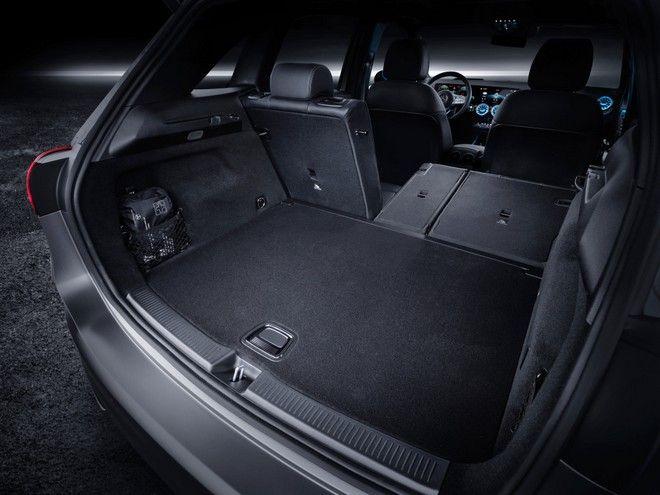 Το πορτμπαγκάζ της νέας Mercedes Benz B-Class
