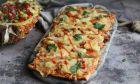 Πίτσα Χαβάη με Ανανά και Σπιτική Σάλτσα Bbq, από την Funky Cook