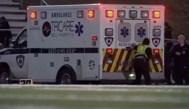 Νιου Τζέρσεϊ: Πυροβολισμοί σε σχολικό αγώνα - 3 τραυματίες
