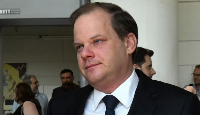 O υπουργός Μεταφορών Κώστας Καραμανλής