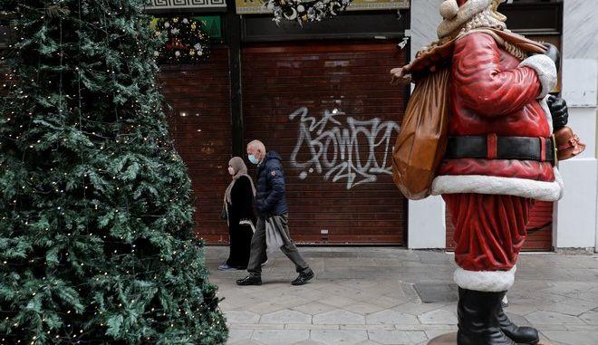 Χριστούγεννα με lockdown την εποχή της πανδημίας