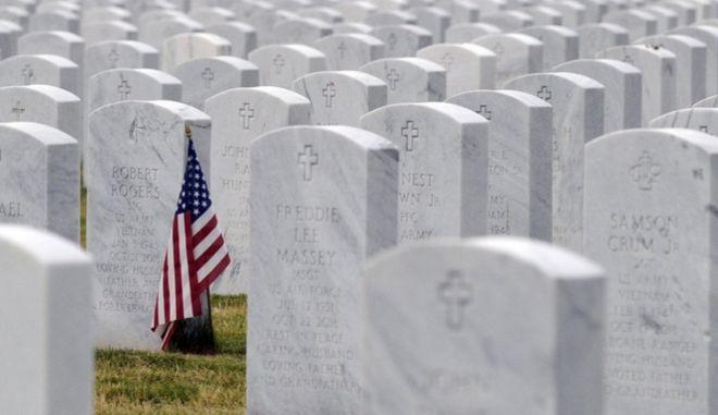"To ""Εθνικό Κοιμητήριο της Αλαμπάμα"" στο Μοντεβαλο"