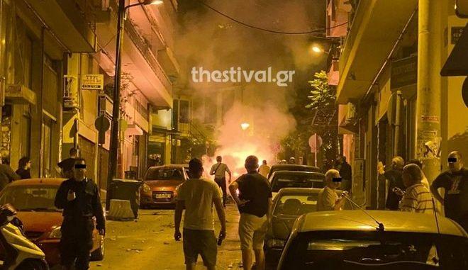 Ένταση και βόμβες μολότοφ στην Θεσσαλονίκη