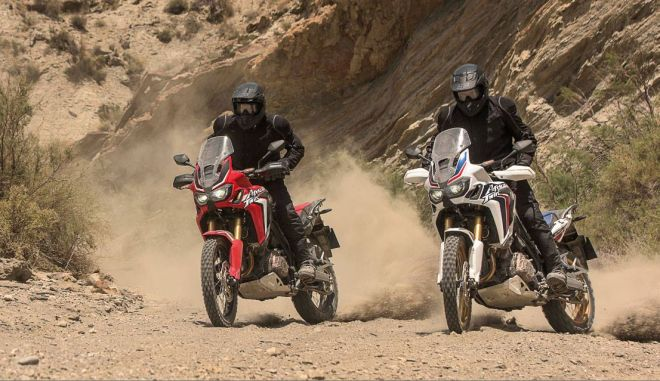 Η νέα Honda CRF1000L Africa Twin σε πάει παντού...
