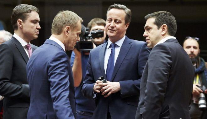 Σύνοδος του Ευρωπαϊκού Συμβουλίου στις Βρυξέλλες, Πέμπτη 18 Φεβρουαρίου 2016. (EUROKINISSI/'The European Union')