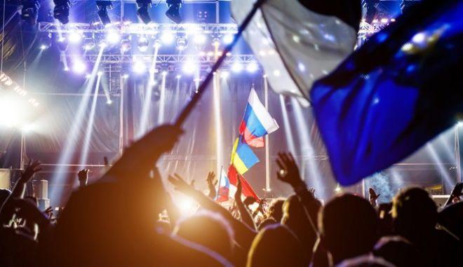 Στιγμιότυπο από προηγούμενο διαγωνισμό της Eurovision