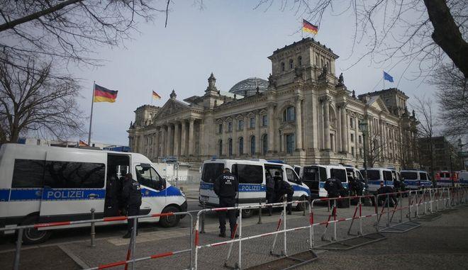 Αστυνομία στο Βερολίνο. Φωτο αρχείου.