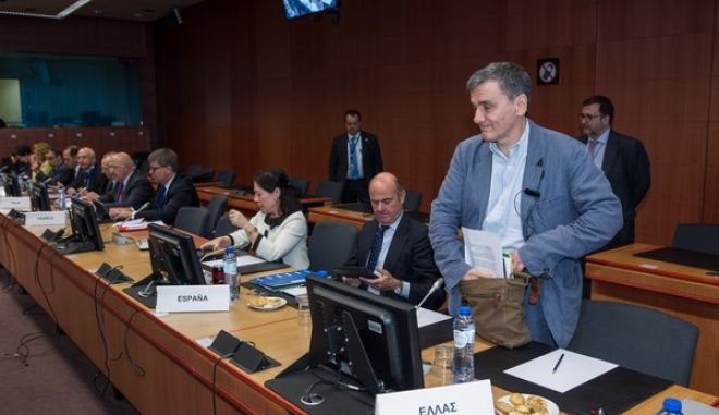 Eurogroup meeting, at EU Headquarters, in Brussels, Belgium, on 24 May, 2016 /   Eurogroup,    ,  , ,  24  2016.