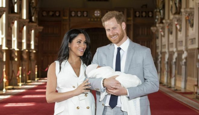 Οι πρώτες φωτό του μωρού των Μέγκαν και Χάρι