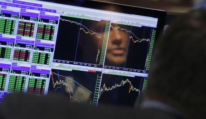 Στιγμιότυπο με δείκτες χρηματιστηρίου