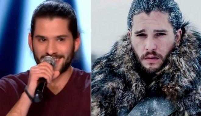 Όταν ο... Jon Snow τραγούδησε στο Voice