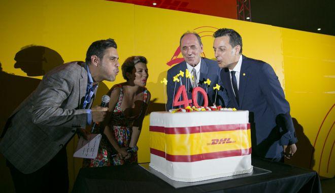 40 χρόνια στην Ελλάδα με μία λαμπερή γιορτή για την DHL Express!