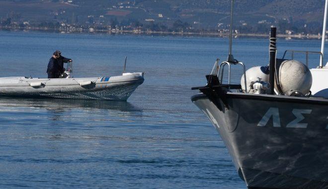 Σκάφη του λιμενικού