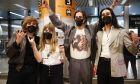 Οι νικητές της Eurovision Maneskin στην Ιταλία