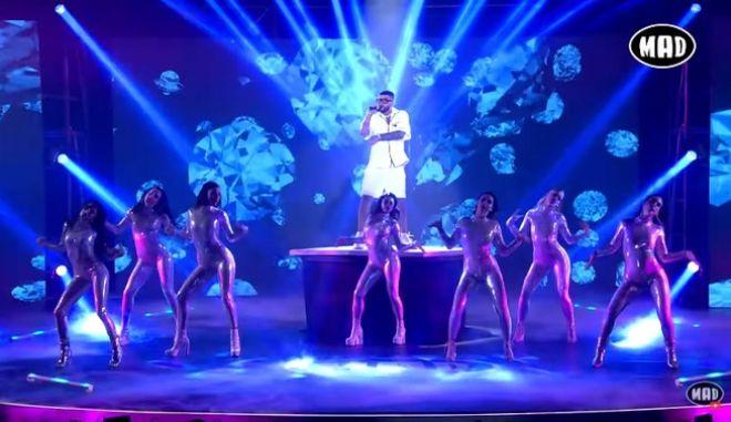 Στιγμιότυπο από τα φετινά Mad Video Music Awards