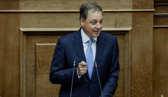 Συζήτηση στη Βουλή για σύσταση προανακριτικής επιτροπής για τον Δ. Παπαγγελόπουλο