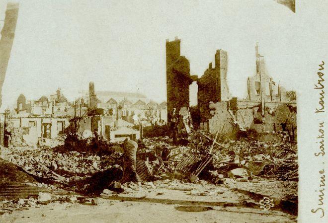 Η καταστροφή της Σμύρνης σε 40 σπάνια καρέ