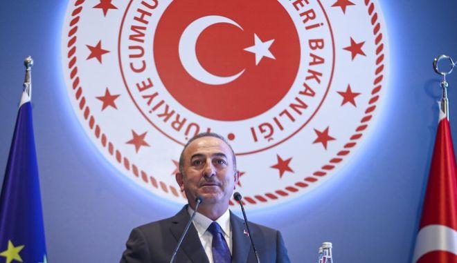 Ο τούρκος υπουργών Εξωτερικών.