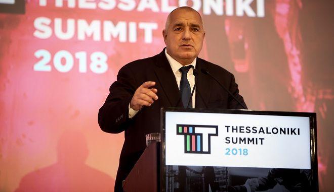 O πρωθυπουργός της Βουλγαρίας Μπόικο Μπορίσοφ