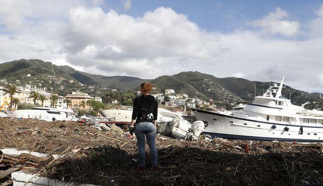 Μετά από καταιγίδα στην Ιταλία