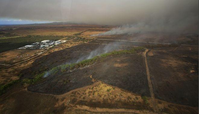 Φωτιά στη Χαβάη: Σε κατάσταση έκτακτης ανάγκης κηρύχθηκε το νησί Μάουι