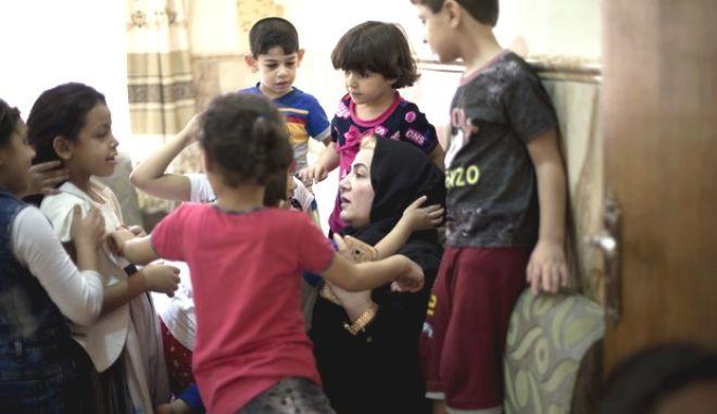 Παιδιά στην Μοσούλη