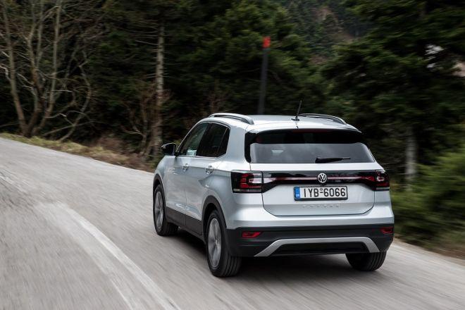VW T-Cross: με πλήρη εξοπλισμό και προηγμένη ασφάλεια