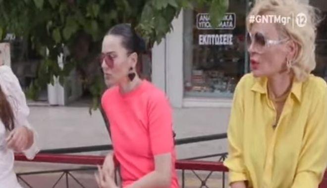 """GNTM: Τσακωμός Ζενεβιέβ με Χριστοπούλου - """"Μίλα για σένα"""""""