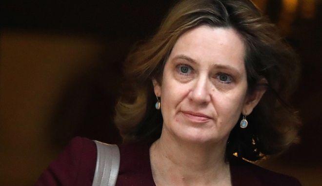 Η πρώην υπουργός Εσωτερικών, Άμπερ Ραντ