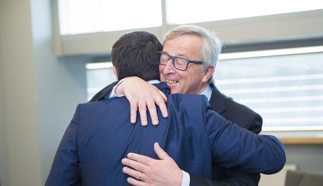 Συνάντηση Τσίπρα-Γιούνκερ. Ο πρόεδρος της Κομισιόν αναγνώρισε την πρόοδο της Ελλάδας
