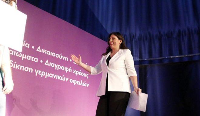 Κωνσταντοπούλου: Δεν θα σταματήσουμε μέχρι να πέσουν