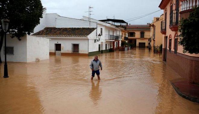 Ισπανία: Δύο νεκροί από τις φονικές πλημμύρες στα νότια της χώρας