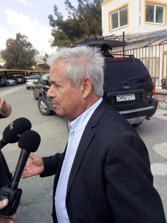 Ο δήμαρχος Μαλεβιζίου Κώστας Μαμουλακης