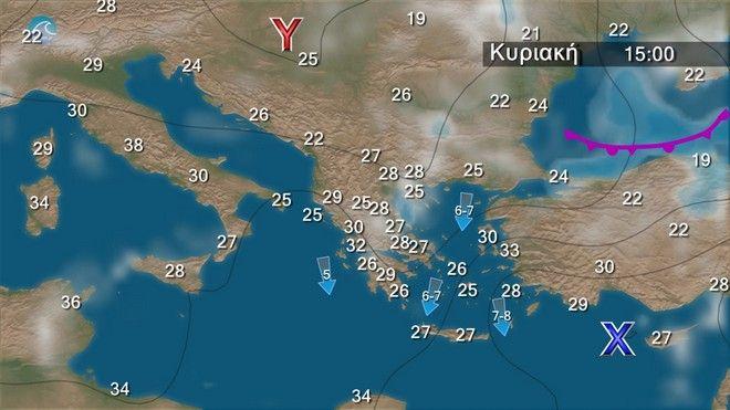 Καιρός: Έρχονται 40άρια και στην χώρα μας - Πότε αναμένεται το κύμα ζέστης