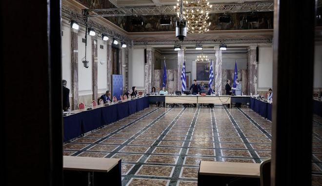 Συνεδρίαση της Ειδικής Κοινοβουλευτικής Επιτροπής προς διενέργεια εξέτασης σχετικά με τη διερεύνηση αδικημάτων που τυχόν έχουν τελεσθεί από τον Δημήτρη Παπαγγελόπουλο