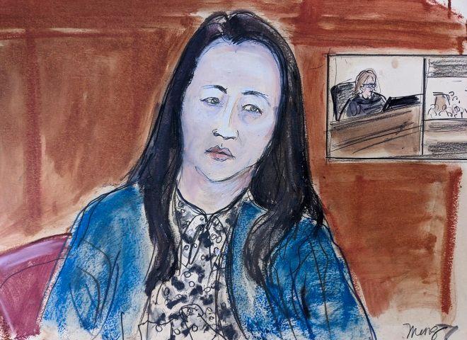 Η οικονομική διευθύντρια της Huawei, Μενγκ Ουάνγκζου