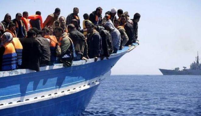 Διάσωση χιλίων εξακοσίων μεταναστών νότια της Σικελίας