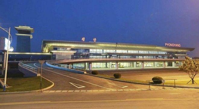 Ο Κιμ Γιόνγκ Ουν εγκαινίασε το πολυτελέστατο αεροδρόμιο της Πιονγιάνγκ