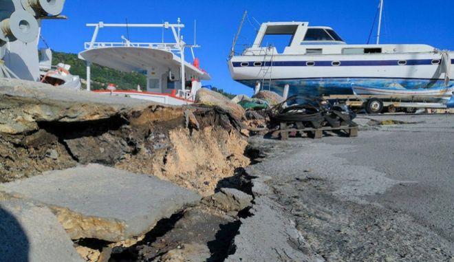 Ισχυρός σεισμός 6,6 ρίχτερ στον υποθαλάσσιο χώρο ανοικτα της Ζακύνθου τα ξημερώματα, Παρασκευή 26 Οκτωβρίου 2018