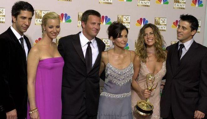 Το cast της σειράς Friends