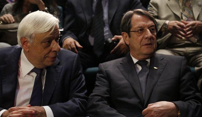 Νίκος Αναστασιάδης και Προκόπης Παυλόπουλος