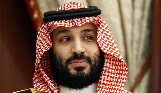 Ο πρίγκιπας διάδοχος της Σαουδικής Αραβίας