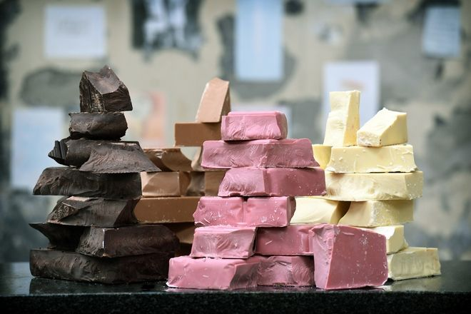 Η νέα KitKat είναι φυσική ροζ