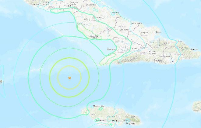 Σεισμός Κούβα 7,7