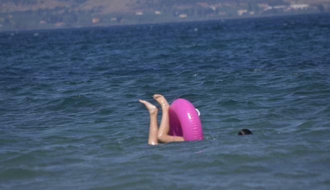 Αργολίδα-Στιγμιότυπο από την παραλία της Καραθώνας στο Ναύπλιο