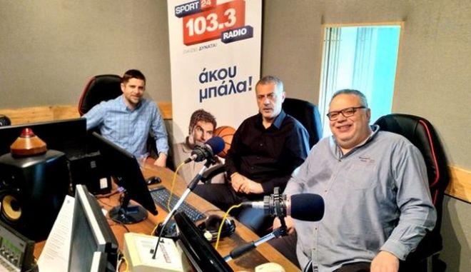 Μώραλης στον Sport24 Radio 103,3: Τα περί ολιγαρχών στο δήμο Πειραιά είναι παραμύθια για μικρά παιδιά